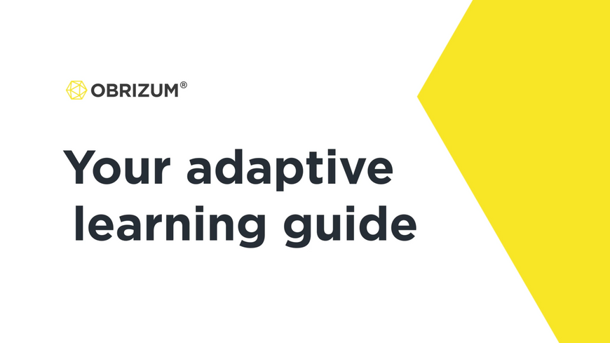 OBRIZUM Adaptive Learning Guide