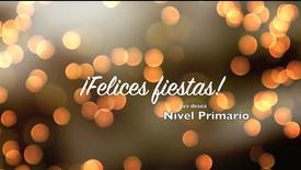 ¡Felices fiestas! - Nivel Primario
