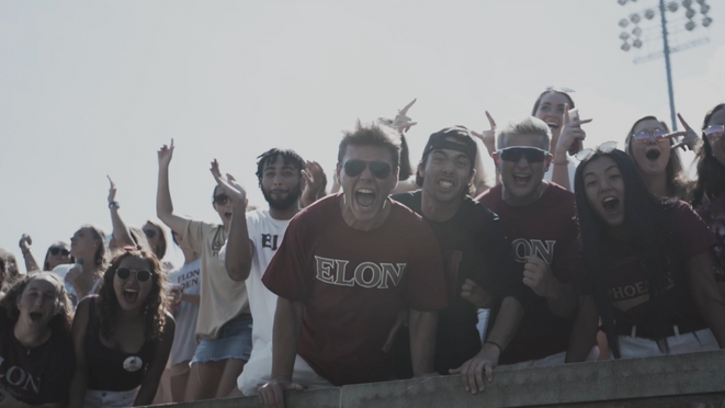Elon Football This is Game day - Part 1