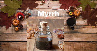 Myrrh essential oil for your face