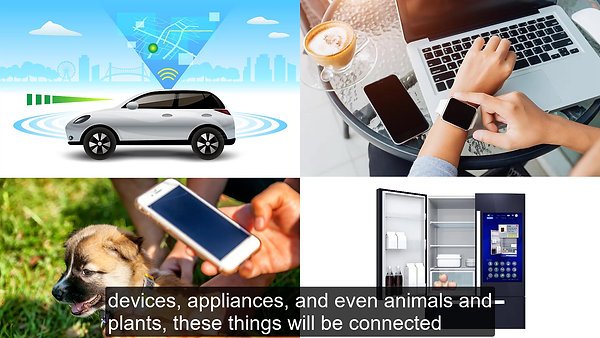 Cloud Technologies and the Internet of Things - Preview Video