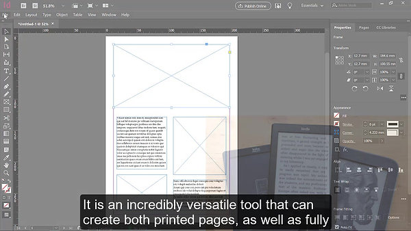 InDesign - Course Preview Video