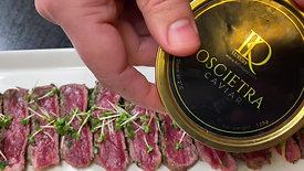 Beef & Caviar carpaccio
