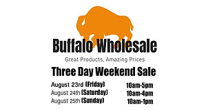 Weekend Sale 8/23/19-8/25/19