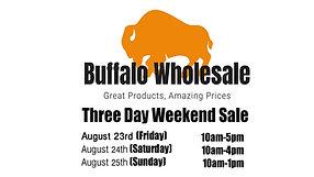 Weekend Sale 8/23/19-8/25/19