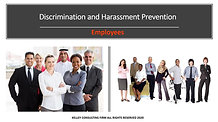 Discrimination and Harassment Prevention Employees Video