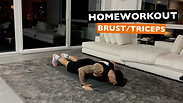 Brust / Triceps ohne Geräte