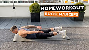 Rücken / Biceps ohne Geräte