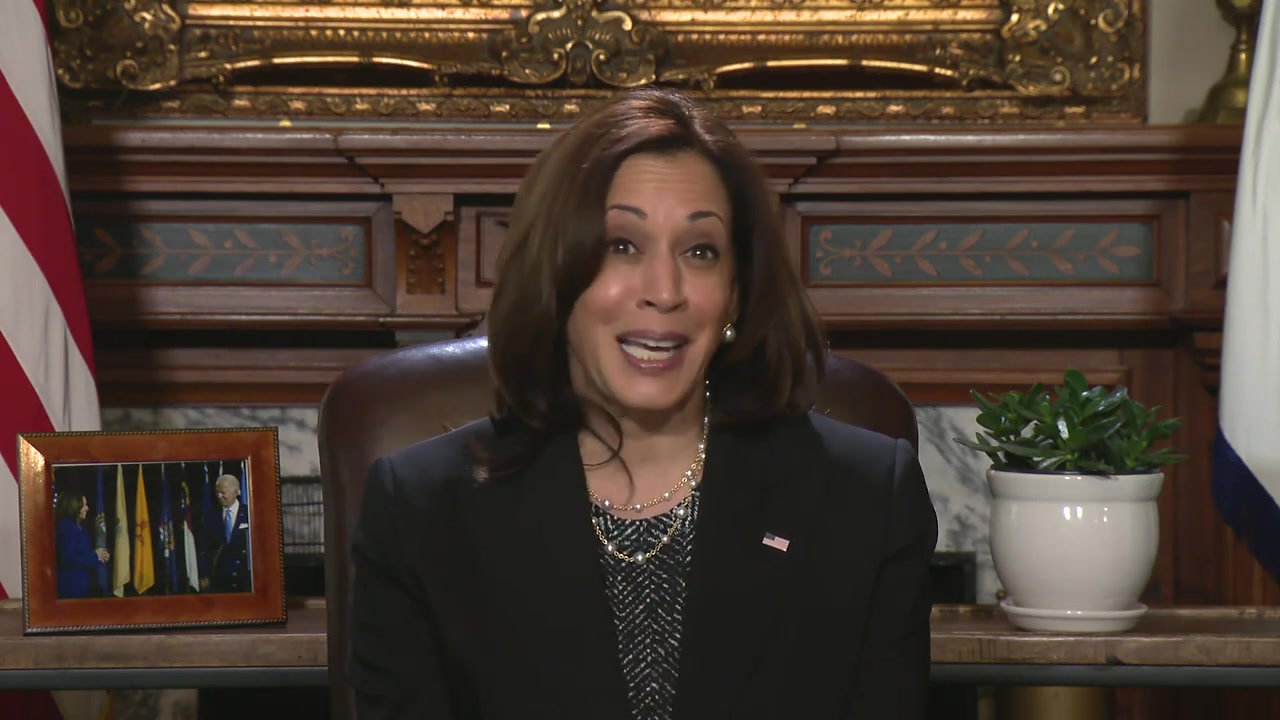 Message from Vice President Harris
