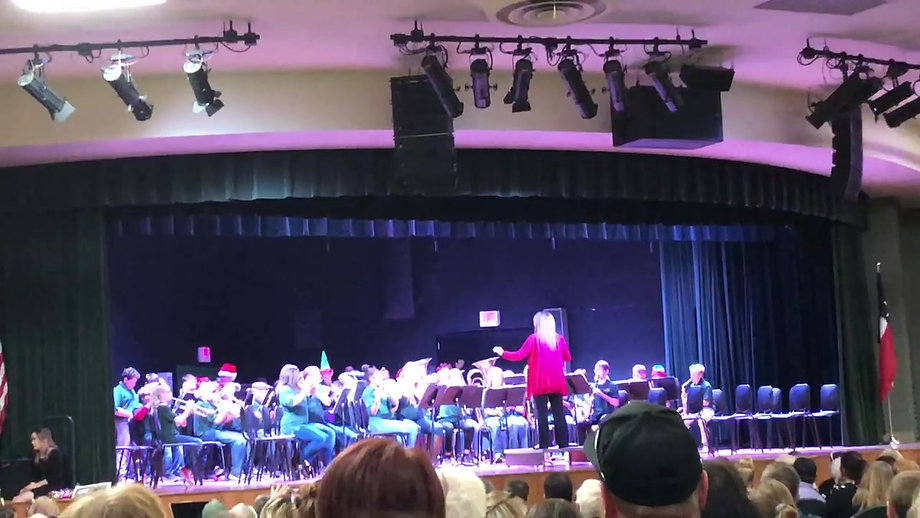 Hawk Band Christmas Concert 2019