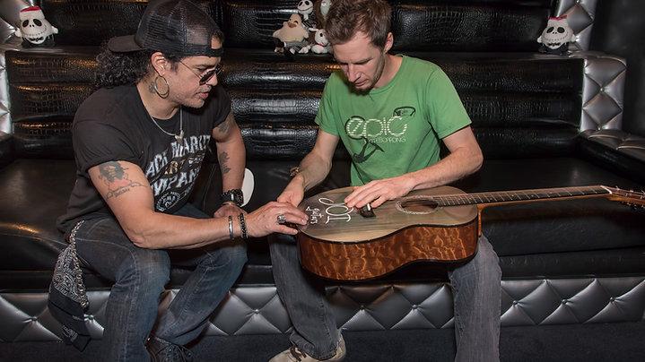 Joi Creates the Slash Guitar