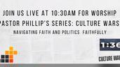 Culture Wars-Naviating Faith and Politics Faithfully