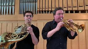 L. v. Beethoven: Rondo aus dem Duo Nr. 2 für Klarinette und Fagott