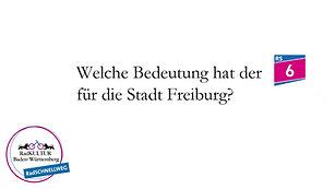 Welche Bedeutung hat der RS6 für die Stadt Freiburg?