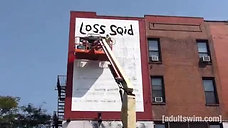 Time-Lapse Squids Mural (NYC Remix) Squidbillies