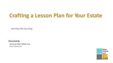 Estate Planning for Teachers