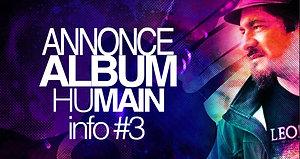 Présentation Album Humain #3