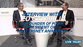 Interview with Ed Catmull, President Disney Animation