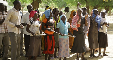 Worship in the Nuba Mountains