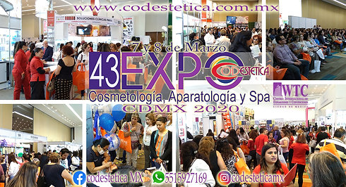 43 EXPO CODESTETICA Cosmetología, Aparatología y Spa CDMX 2020