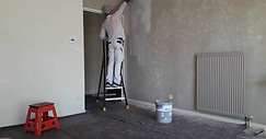 Préparation d'un mur avec OBtravaux Marseille
