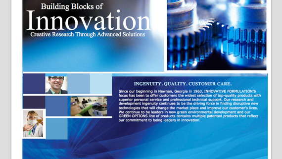 INNOVATIVE FORMULATIONS - Company Introduction