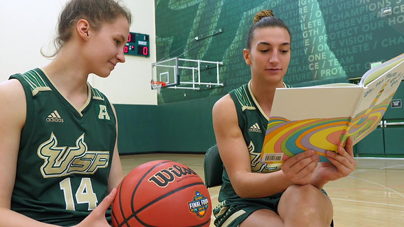 University of South Florida Read to the Final Four PSA (2)