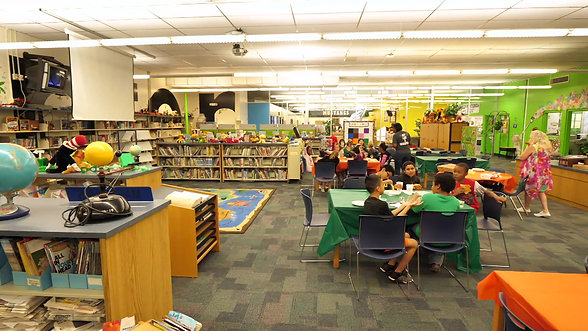 McDonald Elementary Read to the Final Four Celebraton