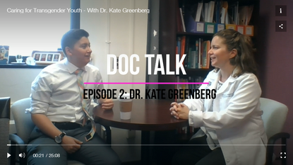 Caring for Transgender Youth - With Dr. Kate Greenberg