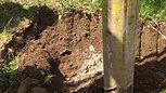 Old Style Vacuum Excavator in use.