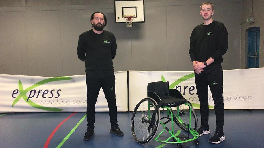 Wheelchair Basketball Skills & Drills