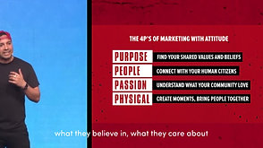The New 4 P's of Marketing with Attitude