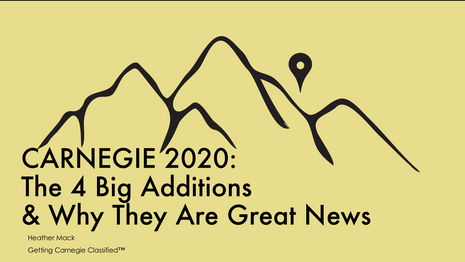 Carnegie 2020: 4 Big Additions