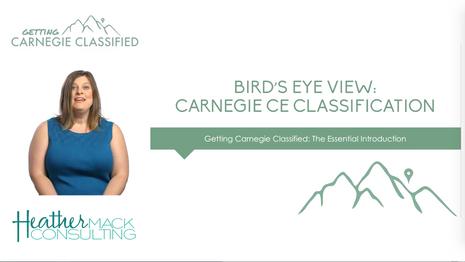 GCC Workshop 1: Bird's Eye View