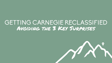 Reapplying for Carnegie? 3 Surprises to Avoid