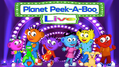 Planet Peek A Boo LIVE Demo- Sing-A-Long SHOW