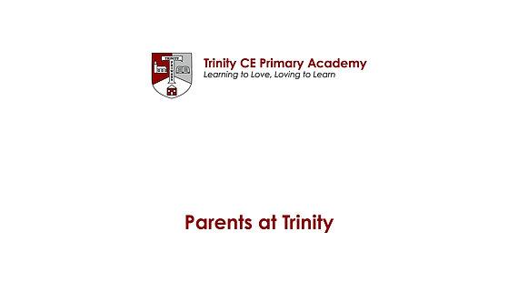 Parents at Trinity