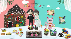 Crafty Clay Air Dry Clay | The Best Gift Box for Inspiring Creativity