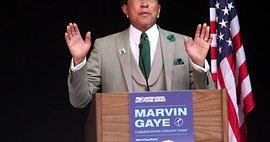 Marvin Gaye's Forever Stamp Dedication - Greek Theater 422019