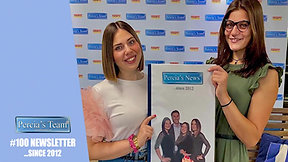 PERCIA'S TEAM AT WORK: #100 Newsletter... since 2012