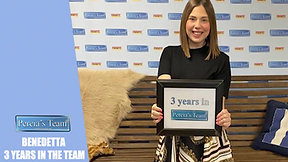 PERCIA'S TEAM AT WORK: Benedetta 3 years in the Team
