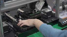 Button PCB Scour Jig Equipment