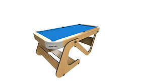Riley 6Ft 6In Vertical Folding Pool Table