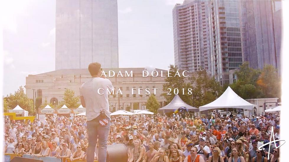 Adam Doleac - CMA Fest Recap