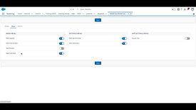 Menu Settings - Mobile Scan Builder (Salesforce Lightning)