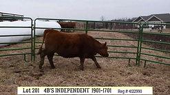 201 -4B's Independant