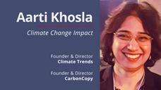 Climate Change Impact - Aarti Khosla