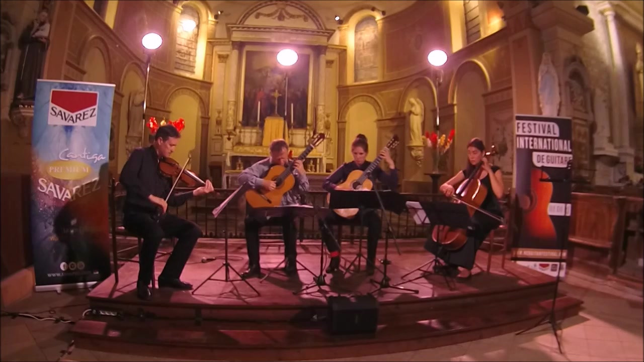 Quatuor 2 Guitares, Violon, Violoncelle