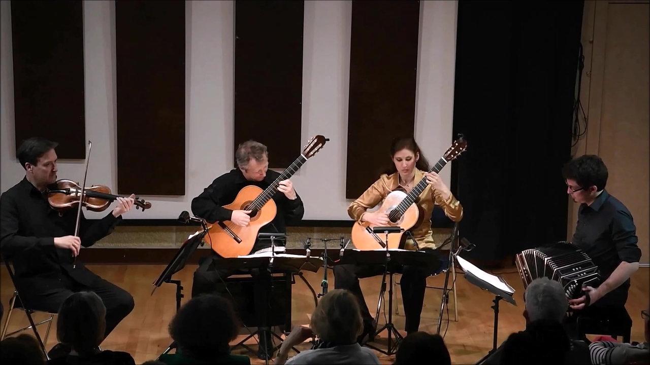 Quatuor 2 Guitares, Violon, Bandonéon