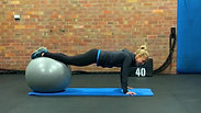 Fitball Decline Exercises